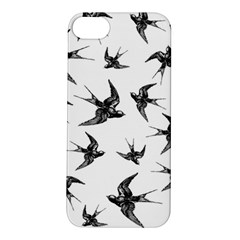 Birds Pattern Apple Iphone 5s/ Se Hardshell Case