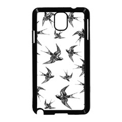 Birds Pattern Samsung Galaxy Note 3 Neo Hardshell Case (black)