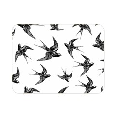 Birds Pattern Double Sided Flano Blanket (mini)
