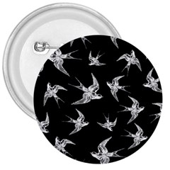 Birds Pattern 3  Buttons