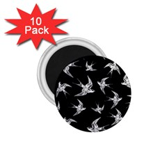 Birds Pattern 1 75  Magnets (10 Pack)