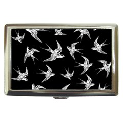Birds Pattern Cigarette Money Case
