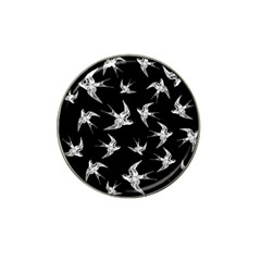 Birds Pattern Hat Clip Ball Marker (4 Pack)