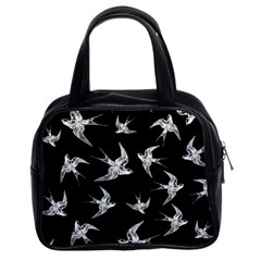 Birds Pattern Classic Handbag (two Sides)