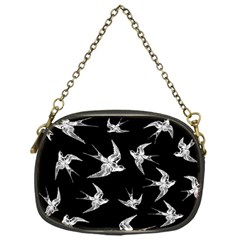 Birds Pattern Chain Purse (one Side)