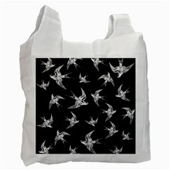Birds Pattern Recycle Bag (two Side)