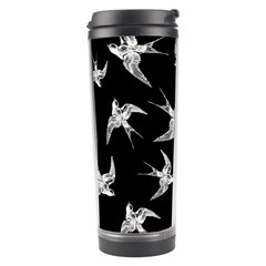 Birds Pattern Travel Tumbler