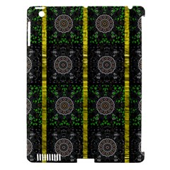 Stars And Flowers Decorative Apple Ipad 3/4 Hardshell Case (compatible With Smart Cover) by pepitasart