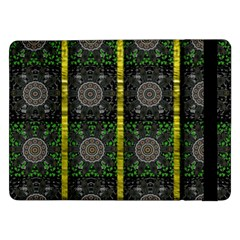 Stars And Flowers Decorative Samsung Galaxy Tab Pro 12 2  Flip Case