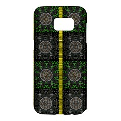 Stars And Flowers Decorative Samsung Galaxy S7 Edge Hardshell Case