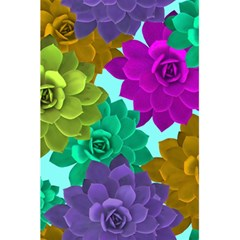 Flowers Stamping Pattern Reason 5 5  X 8 5  Notebook