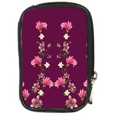 New Motif Design Textile New Design Compact Camera Leather Case by Simbadda