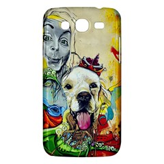 Wall Girl Dog Graphite Street Art Samsung Galaxy Mega 5 8 I9152 Hardshell Case