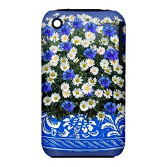 Marguerite Cornflower Vase Blossom Iphone 3s/3gs
