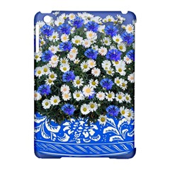 Marguerite Cornflower Vase Blossom Apple Ipad Mini Hardshell Case (compatible With Smart Cover)