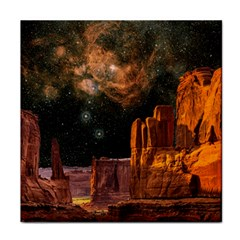 Geology Sand Stone Canyon Tile Coasters