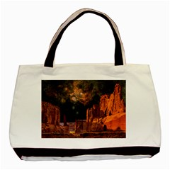 Geology Sand Stone Canyon Basic Tote Bag