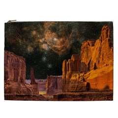 Geology Sand Stone Canyon Cosmetic Bag (xxl)