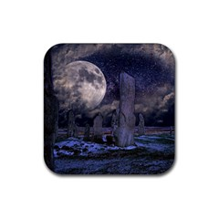 Place Of Worship Scotland Celts Rubber Coaster (square)