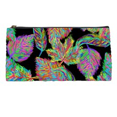 Autumn Pattern Dried Leaves Pencil Cases
