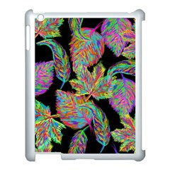 Autumn Pattern Dried Leaves Apple Ipad 3/4 Case (white)