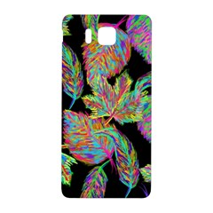 Autumn Pattern Dried Leaves Samsung Galaxy Alpha Hardshell Back Case by Simbadda