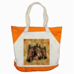 Head Horse Animal Vintage Accent Tote Bag