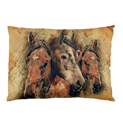 Head Horse Animal Vintage Pillow Case