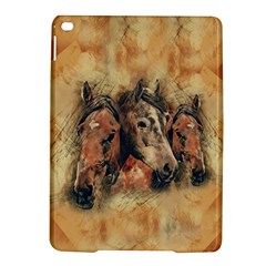 Head Horse Animal Vintage Ipad Air 2 Hardshell Cases by Simbadda