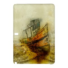 Boat Old Fisherman Mar Ocean Samsung Galaxy Tab Pro 10 1 Hardshell Case