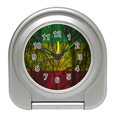 Rasta Forest Rastafari Nature Travel Alarm Clock