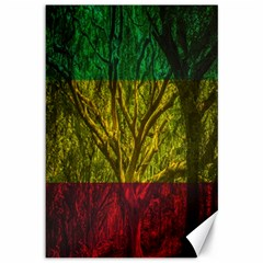 Rasta Forest Rastafari Nature Canvas 12  X 18