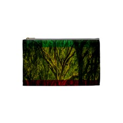 Rasta Forest Rastafari Nature Cosmetic Bag (small) by Simbadda