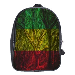 Rasta Forest Rastafari Nature School Bag (xl)