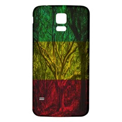Rasta Forest Rastafari Nature Samsung Galaxy S5 Back Case (white)