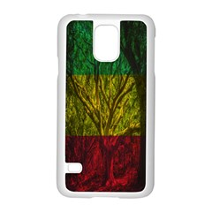 Rasta Forest Rastafari Nature Samsung Galaxy S5 Case (white)
