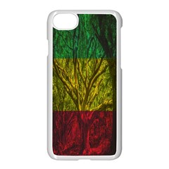 Rasta Forest Rastafari Nature Apple Iphone 8 Seamless Case (white)