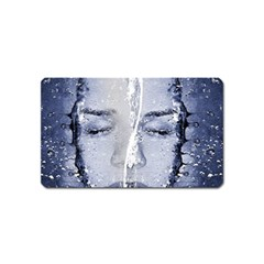 Girl Water Natural Hair Wet Bath Magnet (name Card)