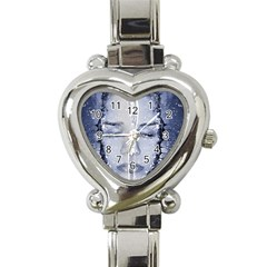 Girl Water Natural Hair Wet Bath Heart Italian Charm Watch