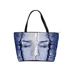 Girl Water Natural Hair Wet Bath Classic Shoulder Handbag by Simbadda