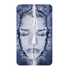 Girl Water Natural Hair Wet Bath Memory Card Reader (rectangular)