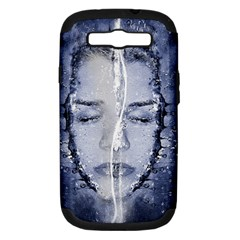 Girl Water Natural Hair Wet Bath Samsung Galaxy S Iii Hardshell Case (pc+silicone)