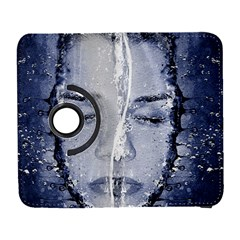 Girl Water Natural Hair Wet Bath Samsung Galaxy S  Iii Flip 360 Case by Simbadda