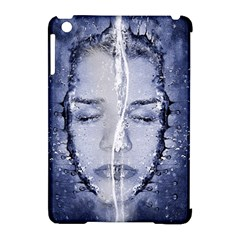 Girl Water Natural Hair Wet Bath Apple Ipad Mini Hardshell Case (compatible With Smart Cover)