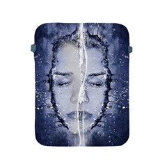 Girl Water Natural Hair Wet Bath Apple Ipad 2/3/4 Protective Soft Cases