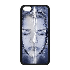 Girl Water Natural Hair Wet Bath Apple Iphone 5c Seamless Case (black)