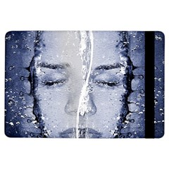 Girl Water Natural Hair Wet Bath Ipad Air Flip by Simbadda