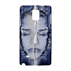 Girl Water Natural Hair Wet Bath Samsung Galaxy Note 4 Hardshell Case
