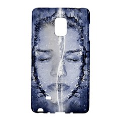 Girl Water Natural Hair Wet Bath Samsung Galaxy Note Edge Hardshell Case