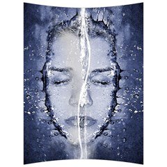 Girl Water Natural Hair Wet Bath Back Support Cushion
